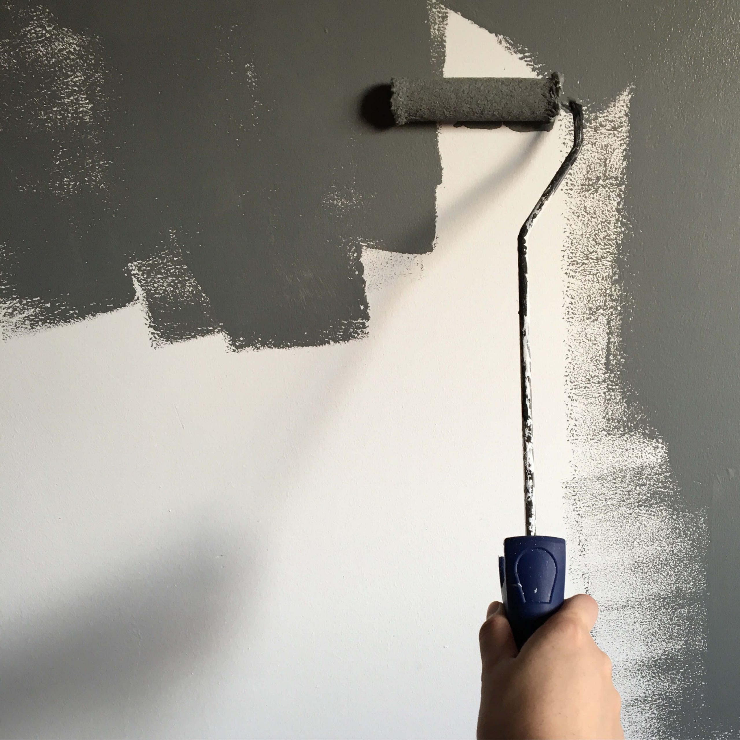painting walls gray in council bluffs ia home